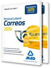 Libros Personal Laboral de Correos 2019