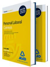 Libros Personal Laboral de Correos 2020