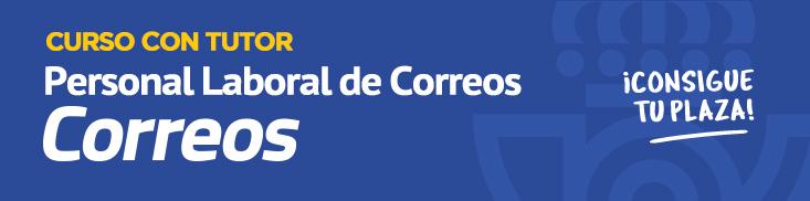 Curso online tutorizado Personal Laboral de Correos